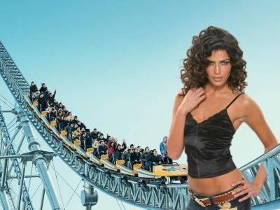 big art of Linor Abargil(Roller Coaster)