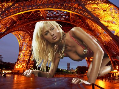 big art of Paris Hilton(Paris)