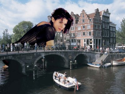 big art of Sandra Bullock(Amsterdam)