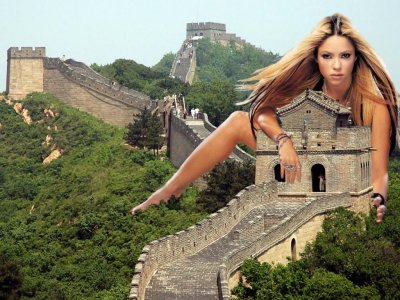 big art of Shakira(China)