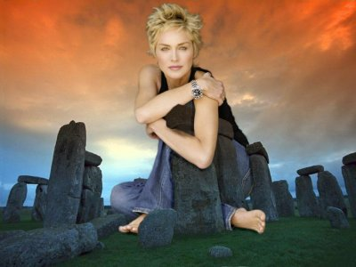 big art of Sharon Stone(Stone Hedge)