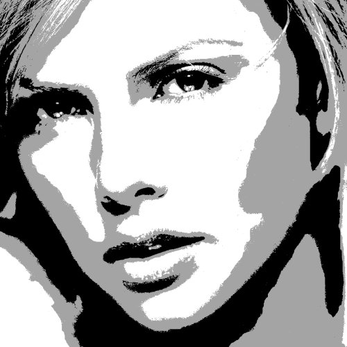 Charlize Theron art