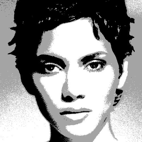 Halle Berry art