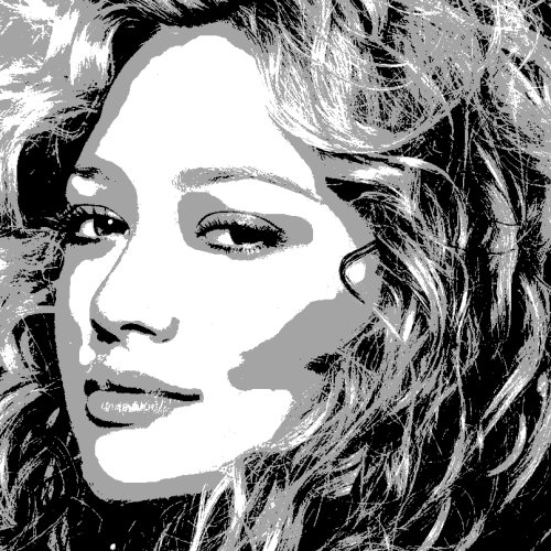 Hilary Duff art