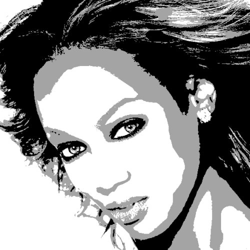 Tyra Banks art