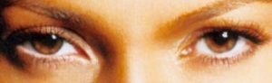 eyes of Jennifer~Lopez