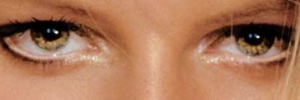 eyes of Karolina~Kurkova