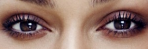 eyes of Keira~Knightley